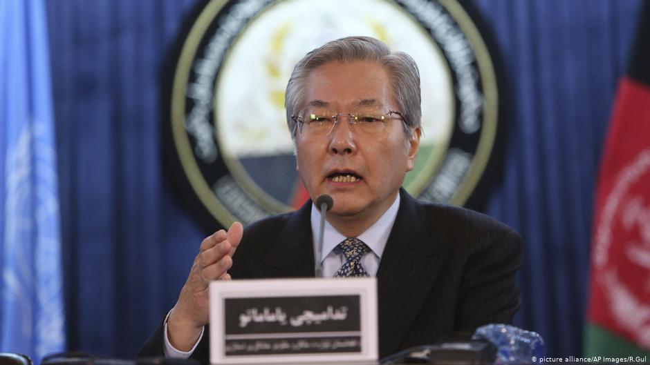 Photo of تدامیچی یاماموتو، نماینده خاص سرمنشی ملل متحد و رئیس یوناما