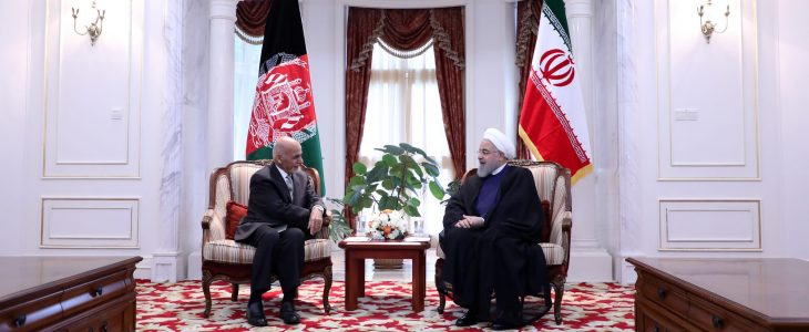 Photo of دیدار دکتر غنی با دکتر حسن روحانی در قزاقستان