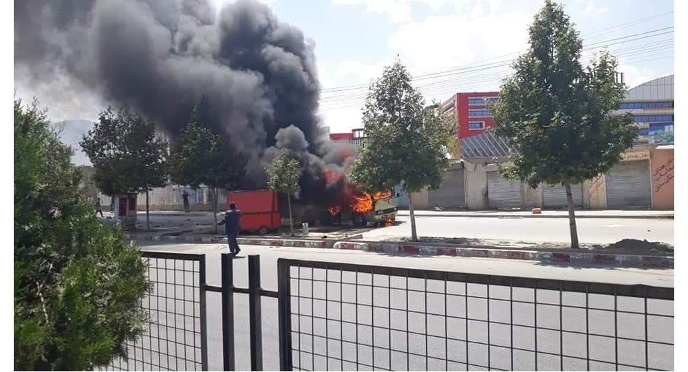 Photo of دقایقی پیش، انفجار در جاده دارالامان کابل