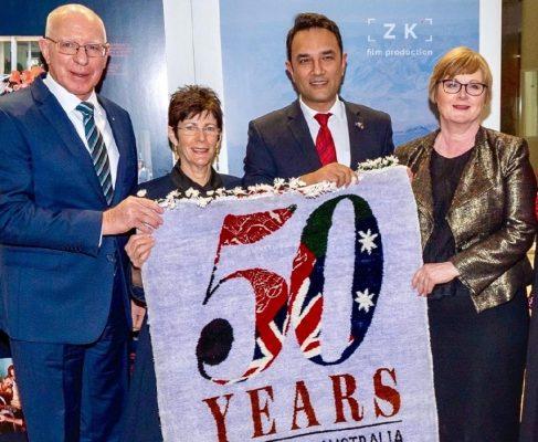 Photo of گرامیداشت از پنجاهمین سالروز روابط دیپلماتیک افغانستان و استرالیا