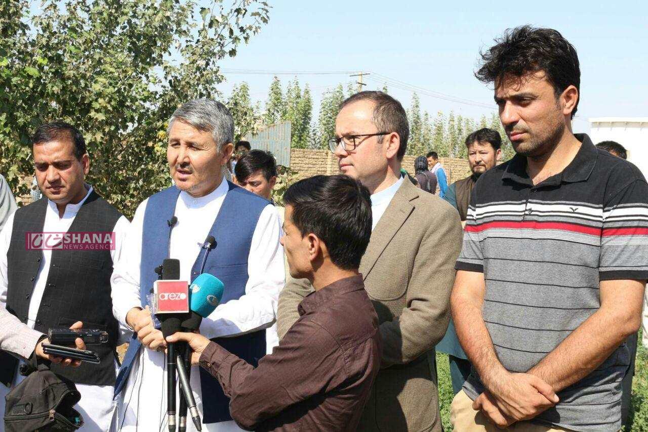 Photo of بهرهبرداری از فارم مرغهای گوشتی در ولایت بلخ