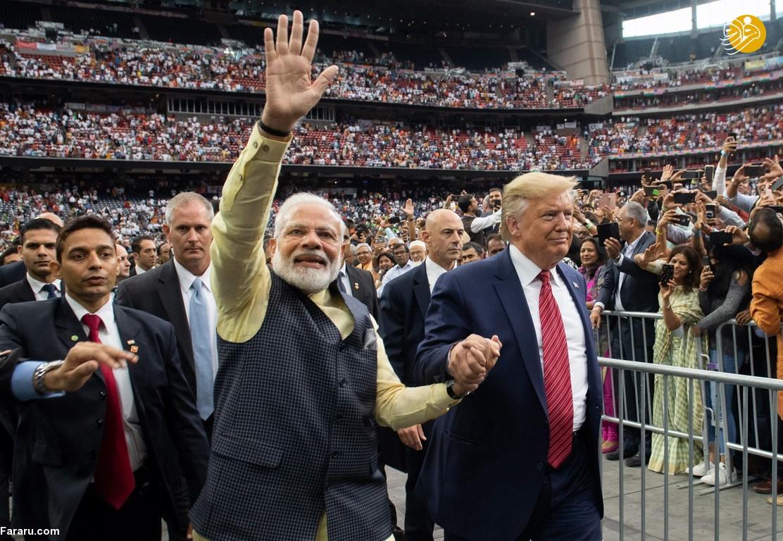 Photo of استقبال بیسابقه ترامپ از نخست وزیر هند