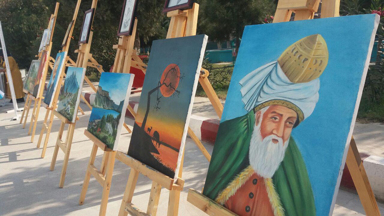 Photo of نمایشگاه آثار دانشآموزان مکتب افغان-ترک در بلخ