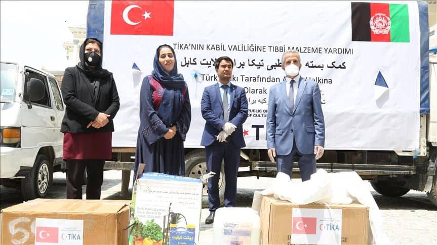 Photo of اهدای محموله پزشکی ترکیه به افغانستان