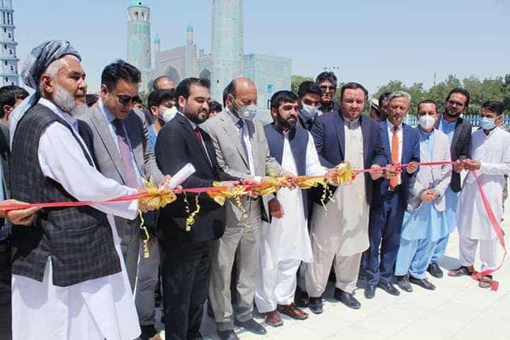 Photo of کار ترمیم و بازسازی روضه حضرت علی در بلخ آغاز میشود