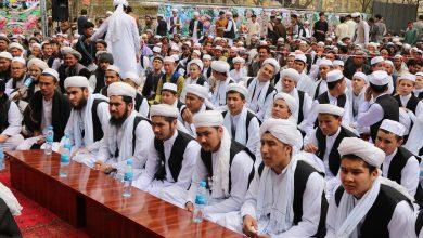 Photo of هفتاد تن پس از سهسال آزمون حفظ قرآنکریم محفل لف دستاربندی برگزار کردند